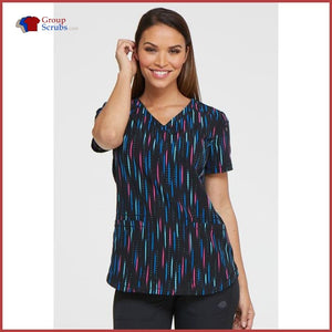 Dickies Dk731 V-Neck Top Womens