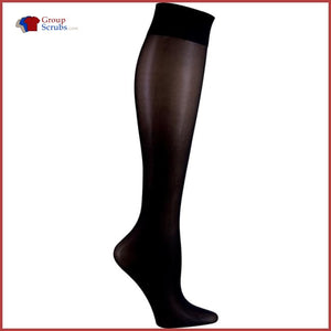 Cherokee Footwear Fashionsupport Knee High 12 Mmhg Compression Socks Creamcicle / One Size Womens