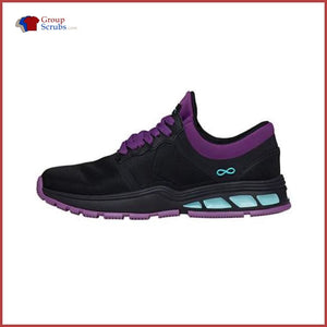 Cherokee Infinity Footwear Fly Athletic Footwear Black/neon Purple/aruba Blue / 10 Womens
