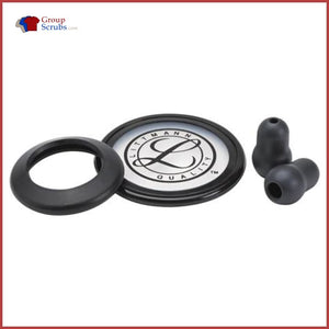 Littmann L40005 Spare Parts Kit For Classic Ii S.e. Stethoscopes Black / One Size Medical Equipment