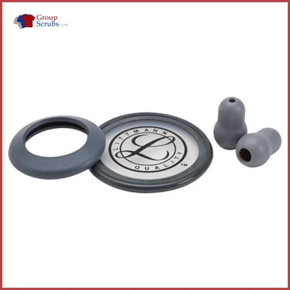 Littmann L40006 Spare Parts Kit For Classic Ii S.e. Stethoscopes Grey / One Size Medical Equipment