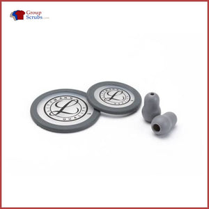 Littmann L40017 Spare Parts Kit For Classic Iii Stethoscopes Grey / One Size Medical Equipment