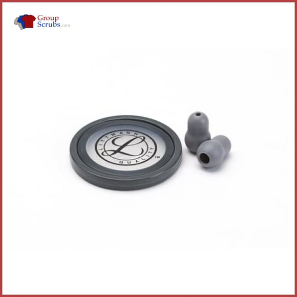 Littmann L40018 Spare Parts Kit For Master Cardiology Stethoscopes Grey / One Size Medical Equipment