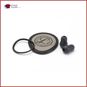 Littmann L40020 Spare Parts Kit For Lightweight Ii Stethoscopes Black / One Size Medical Equipment
