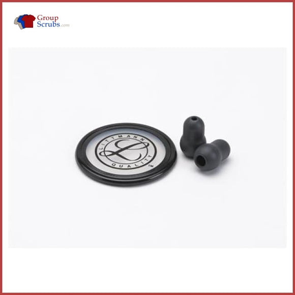Littmann L40022 Spare Parts Kit For Master Classic And Select Stethoscopes Black / One Size Medical Equipment