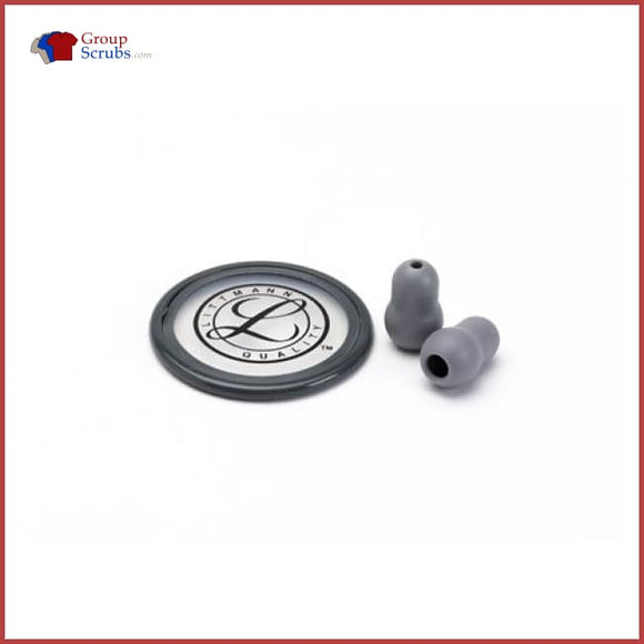 Littmann L40023 Spare Parts Kit For Master Classic And Select Stethoscopes Grey / One Size Medical Equipment