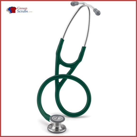 Littmann L6155 Cardiology Iv Stethoscope Hunter Green / One Size Medical Equipment