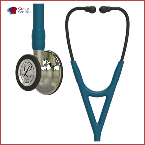 Littmann L6190Cf Cardiology Iv Stethoscope Cf Caribbean Blue / One Size Medical Equipment