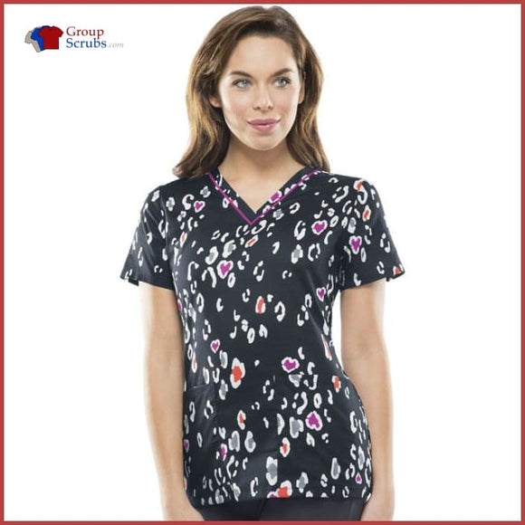 Runway Rw606X8 V-Neck Top Lovely To Meet Zoo / L Womens