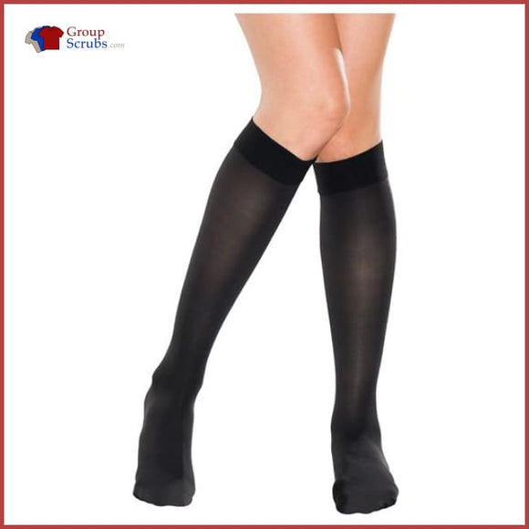 Therafirm Therafirmlight Tf330 10-15 Mmhg Knee-High Compression Stockings Black / L Footwear