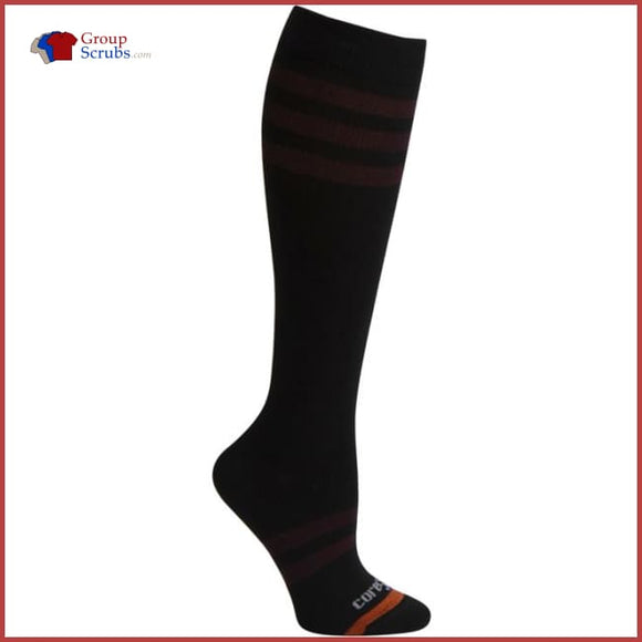 Therafirm Core-Spun Patterns Tfcs116 10-15 Mmhg Light Support Compression Socks Footwear