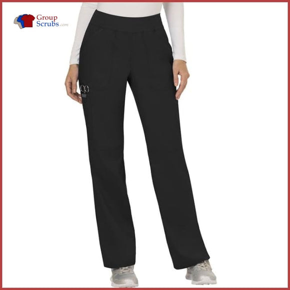 Cherokee Workwear Revolution WW110 Mid Rise Straight Leg Pull-On Pant