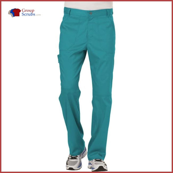Cherokee Workwear Revolution Ww140 Mens Fly Front Pant Teal Blue / 3Xl Mens