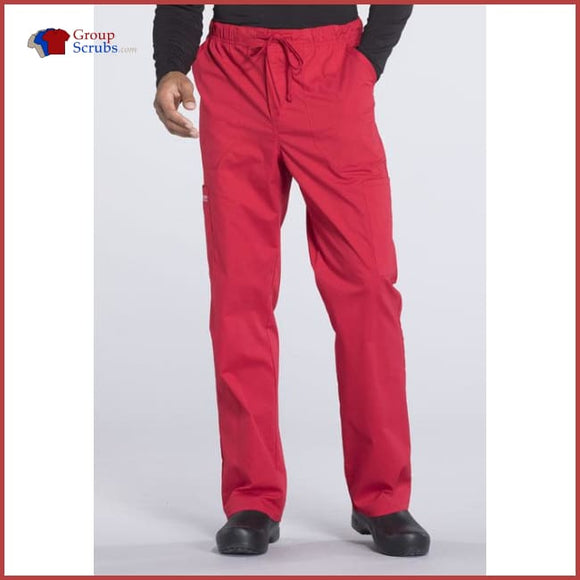 Cherokee Workwear Professionals WW190 Men's Tapered Leg Drawstring Cargo Pant