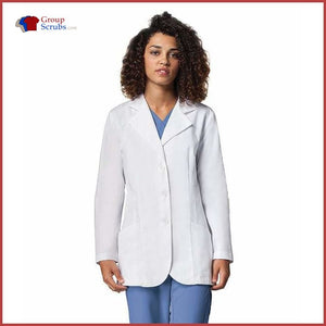 Barco 1112 Womens 30 Lab Coat White / 12 Clearance