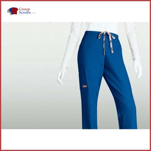 Barco Icu 4262 5-Pocket Cargo Flare Leg Pant New Royal / Xs Clearance