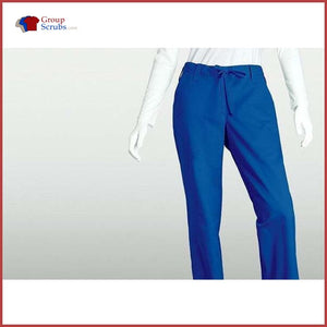 Barco Icu 4299P 3-Pocket Tie Front Pant New Royal / Xl Clearance