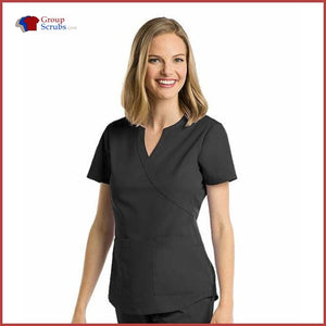 Barco Nrg 3119 2-Pocket Mock Wrap Side Panel Top Black / M Clearance