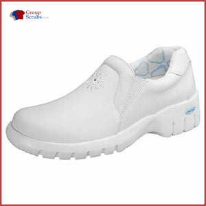 Cherokee Footwear Robin Soft Leather Step-In White / 6H Clearance