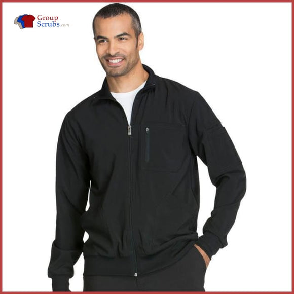 Cherokee Infinity Ck305A Mens Zip Front Jacket Black / 2Xl