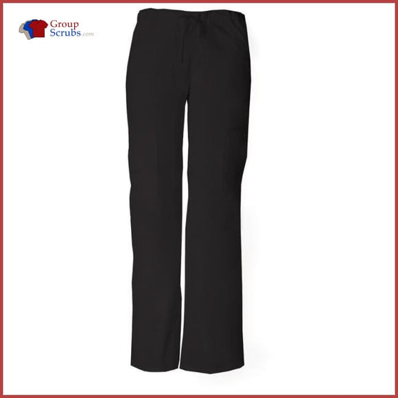 Dickies Eds Signature Contemporary Fit 85100 Low Rise Drawstring Cargo Pant Black / Xxs Womens