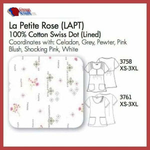 Cherokee 3758 Top In La Petite Rose (Lapt) / Xs Clearance
