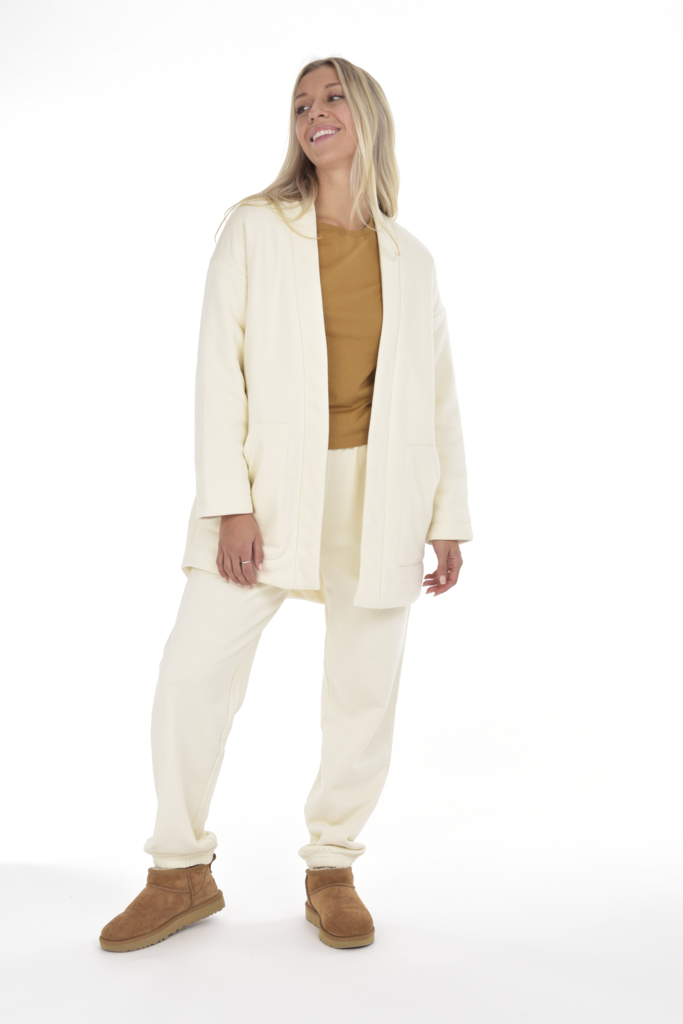 INES QUILTED HOMECOAT