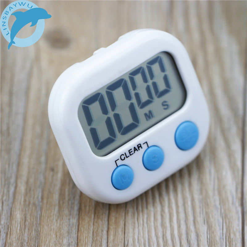 LINSBAYWU Magnetic LCD Digital Kitchen Countdown Timer Alarm with Stan
