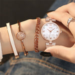 Fashion Stainless Steel Mesh Belt Ladies Wrist watches - Dada Stores