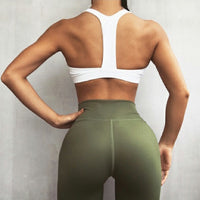 Women's yoga Fitness High Waist sport leggings plus size - Dada Stores