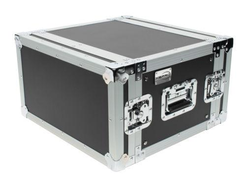 XSPRO XS6U-14 6 Space 6U ATA Effects Rack Flight Tour Case 19
