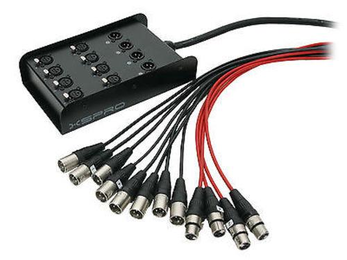 Low Profile Stage Box Snake Cable