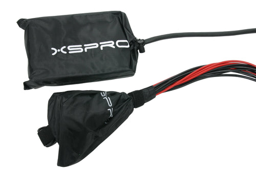 XSPRO 8 X 4 Channel 100' Pro Audio Low Profile Stage Box Snake Cable 8x4x100