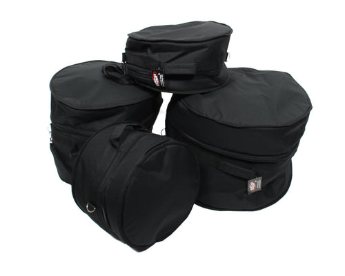 XSPRO 4 Piece Deluxe Padded Jazz Drum Gig Bag Set for Gretsch Catalina