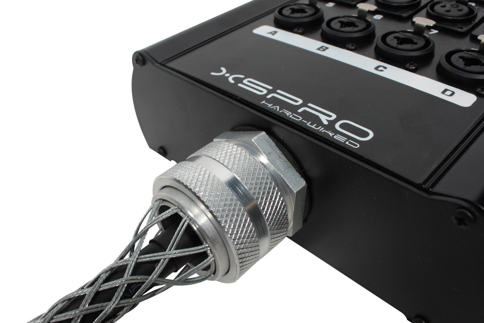 "XSPRO 8 x 4 Channel 50' Pro Audio Stage Snake Combo XLR 1/4"" Return 8x4x50"