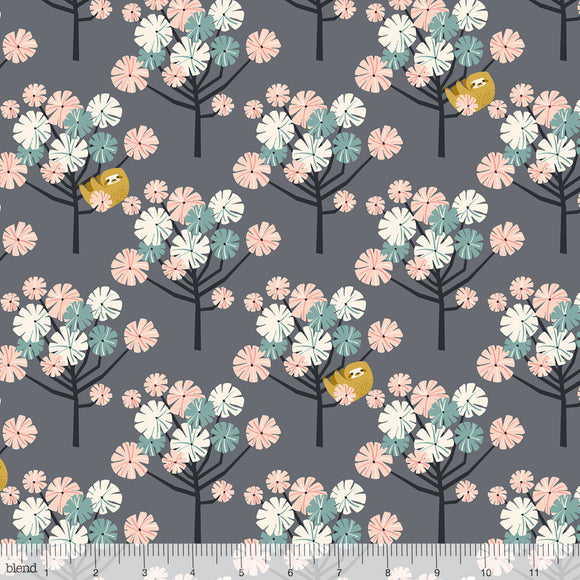 Blend Fabrics - Rainforest Slumber - Tree Dwellers Pink
