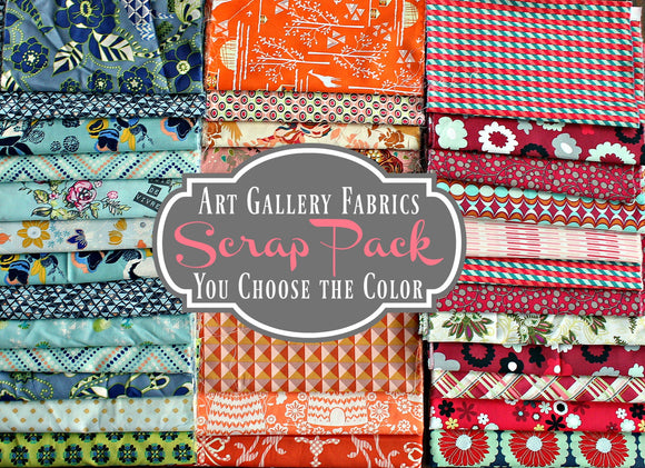 Art Gallery Scrap Pack - You Choose the Color