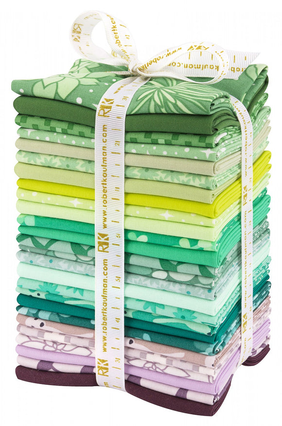 Robert Kaufman Fabrics - Terrarium COOL Fat Quarter Bundle
