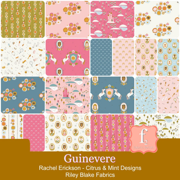 Guinevere - Riley Blake Fabric - Rachel Erickson - Citrus & Mint Designs
