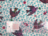 Freespirit Fabric - Nathalie Lete - Anna Maria Horner Conservatory - Woodland Walk - The Swallows Rose