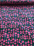 Cotton + Steel Fabric - Once Upon a Time - Love Flower Pink CLEARANCE