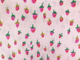 Heather Ross - Trixie - Field Strawberries Blush 50899-8