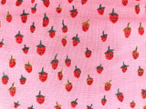 Heather Ross - Trixie - Field Strawberries Pink 50899-9