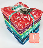 Moda Fabrics -  Fat Quarter Fabric Bundle Kate Spain Calypso Batiks 34pcs