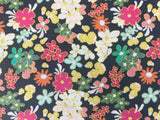 Art Gallery Fabric - Carnaby St. - Ladylike Black Tea - CLEARANCE