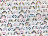 Paintbrush Studio Fabric  -  Ampersand - Over the Rainbow - Quilters Cotton