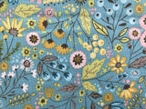 Poppie Cotton - Wanderings - Meadow Blue