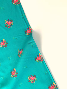 Michael Miller Fabrics - Little Sewists - Soul Blossom Teal