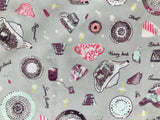 Art Gallery Fabric - Wonderland - Pret--Tea State - CLEARANCE