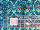 Freespirit Fabrics - Soulmate - It Takes Two Aqua